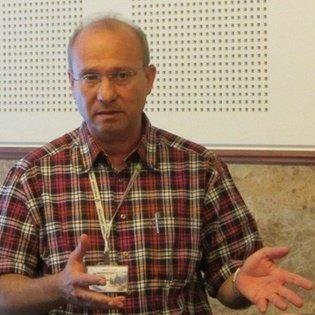 Dr. Schaul Chorev vom KKL auf dem Deutschen Israelkongress